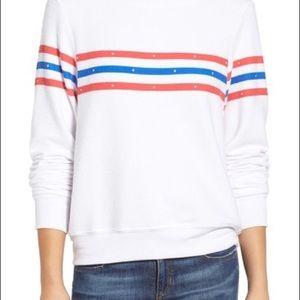 Wildfox Sweatshirt Top Blouse Shirt Small Retro